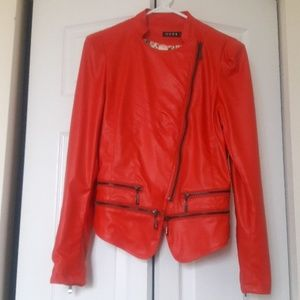 Red PVC Jacket